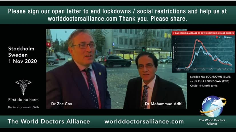 Dr Cox and Dr Adhil in Sweden